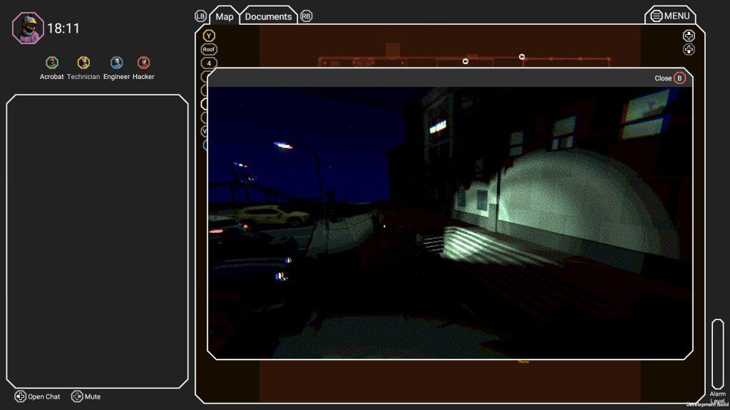[Image: Vidéosurveillance sur l'écran du Manager]