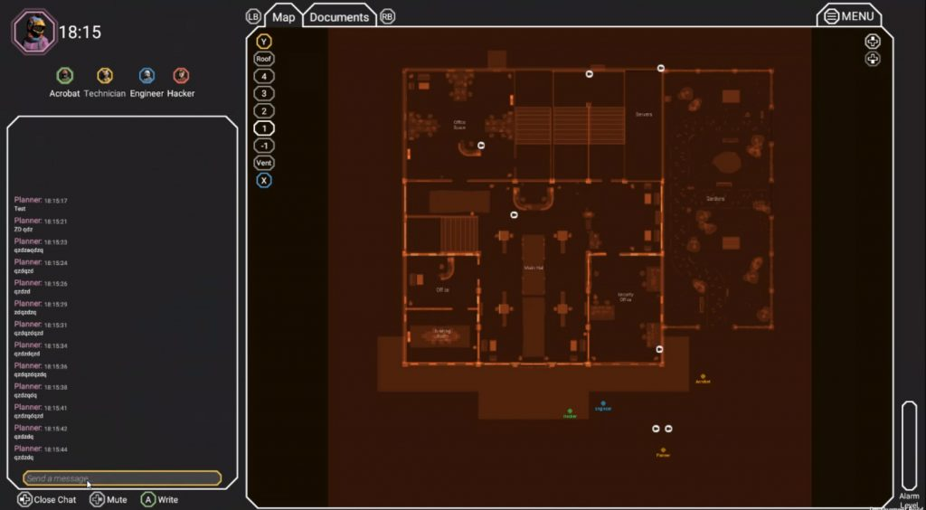 [Image: Carte Interactive sur l'écran du Manager]