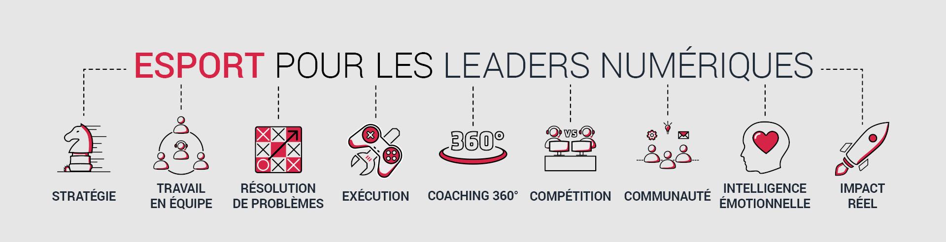 FORMATION ESPORT POUR LES ENTREPRISES: Stratégie, Travail en Équipe, Résolution de Problèmes, Exécution, Coaching 360°, Compétition, Communauté, Intelligence Émotionnelle, Impact Directe